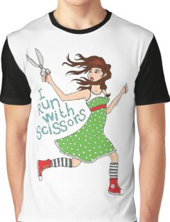 I Run With Scissors Graphic T-Shirt