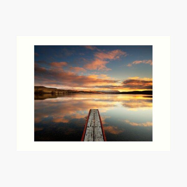 Lake Alexandrina Art Print