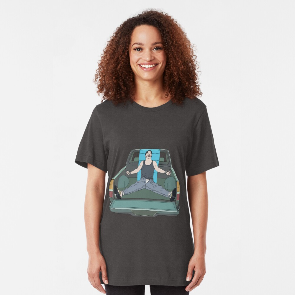 Bound in Truck Bed Slim Fit T-Shirt