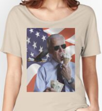 Joe Biden Loves America & Ice Cream Women's Relaxed Fit T-Shirt