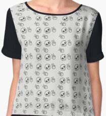 Peace Out, Girl Scout  Women's Chiffon Top