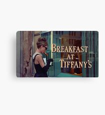 Breakfast at Tiffany's Title Screen Canvas Print