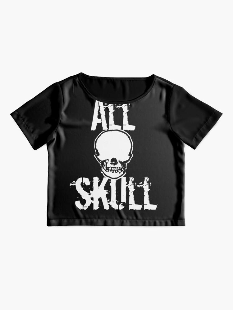 Alternate view of All Skull - The Dark Side Chiffon Top