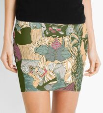 Escape From Fat Kat City Mini Skirt