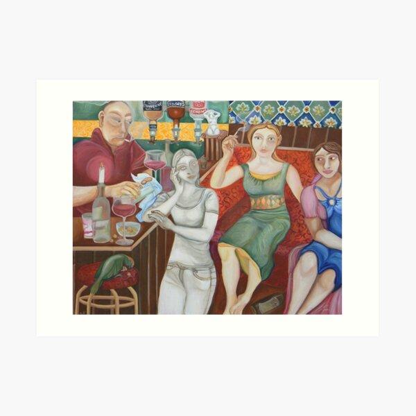 The everlasting pub Art Print