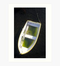 about as useless as a boat full of water...! Art Print