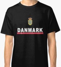 Danmark Danish National Team Jersey Style Classic T-Shirt