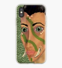 Young Orcish Woman iPhone Case