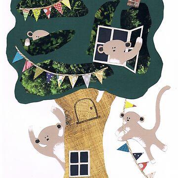 Affen Baumhaus von Suziebh