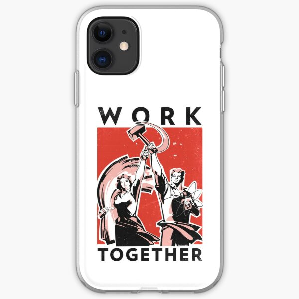 Work Together (Vector Recreation) iPhone Soft Case