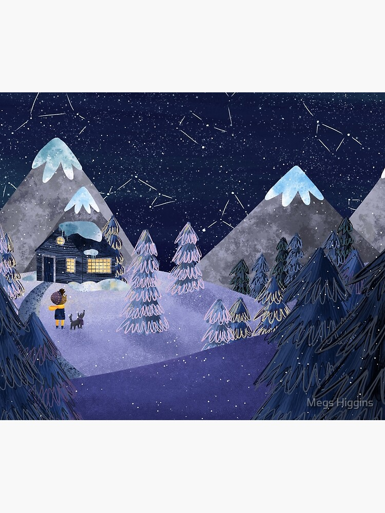 Winter Night by megsneggs