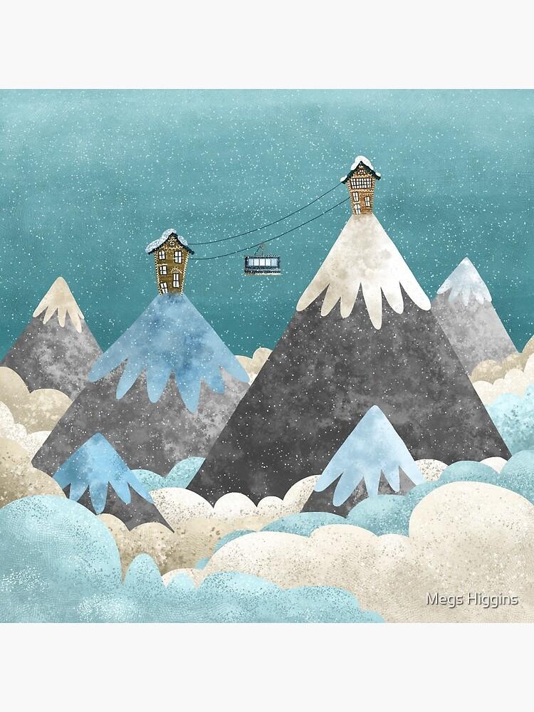 Winter Gondola by megsneggs