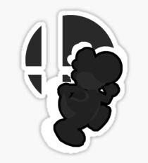 Youshi (Black) - Super Smash Bros. Sticker