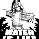 Make a Stand Water is Life by m2bulls
