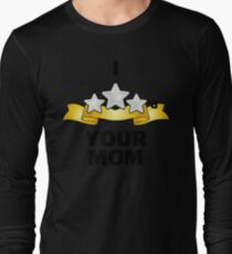 I Three Starred Your Mom - Silver T-Shirt