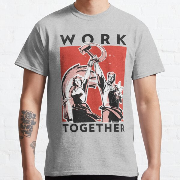 Work Together (Vector Recreation) Classic T-Shirt