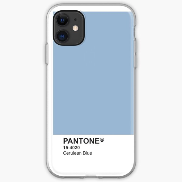 Pantone Universe Phone Case - Cerulean Blue 15-4020 iPhone Soft Case