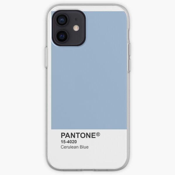 Étui pour téléphone Pantone Universe - Cerulean Blue 15-4020 Coque souple iPhone