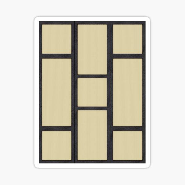 Tatami Sticker