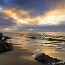 Golden Hour at Goleta Beach by Brian Haidet