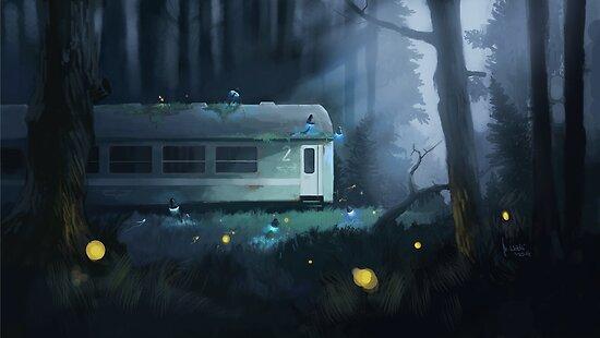 Night Train by wolski