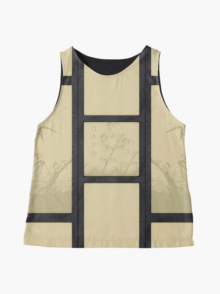 Alternate view of Tatami - bamboo Sleeveless Top