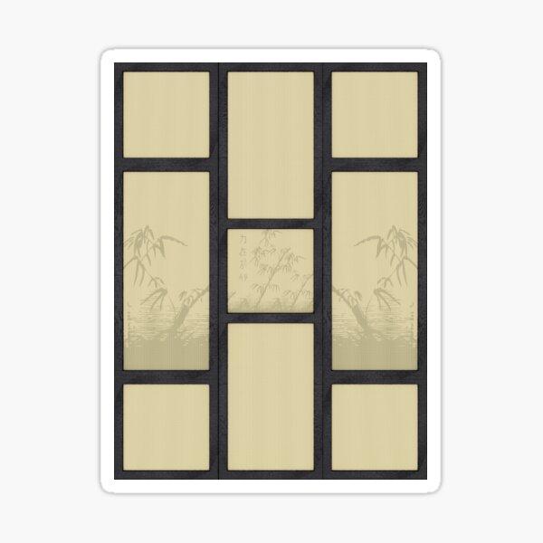 Tatami - bamboo Sticker