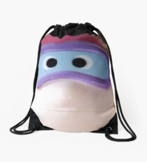 I am a tight-lipped swimmer Drawstring Bag