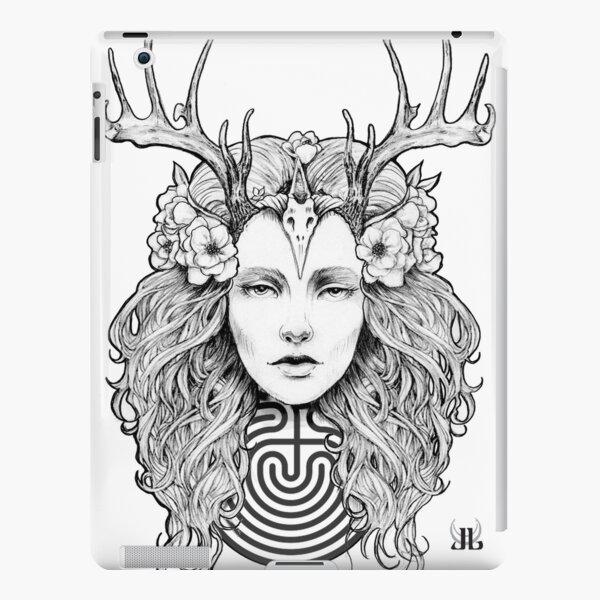 Horned Goddess by Juliana Loomer iPad Snap Case