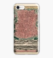 Map Of Madrid 1735 iPhone Case/Skin