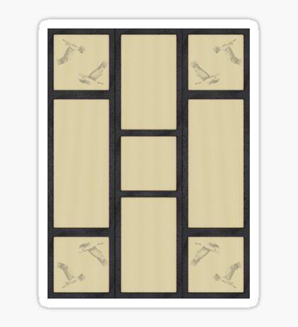 Tatami - Kranich Sticker