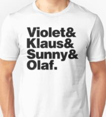 A Series of Unfortunate Names T-Shirt