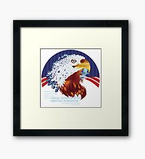 America was not built on fear, America was built on courage, on imagination and an unbeatable determination to do the job at hand, Harry Truman Framed Print