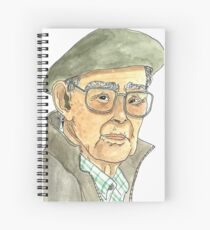 Anciano Portugués Cuaderno de espiral