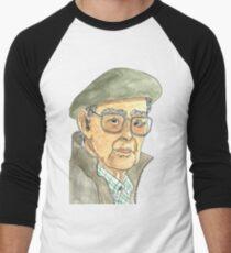 Anciano Portugués Camiseta ¾ bicolor para hombre