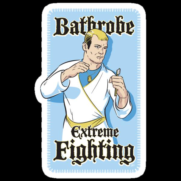 Bathrobe Extreme Fighting by Trulyfunky