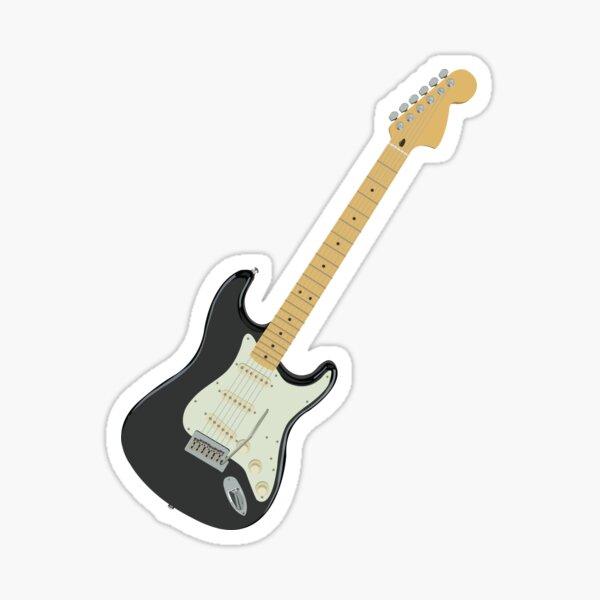 Guitarra electrica Pegatina