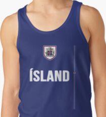 Iceland National Team Jersey Design - Island Team Wear Tank Top