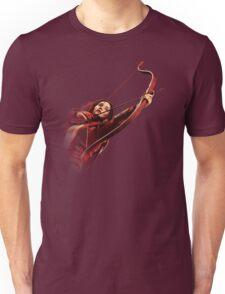 RED MOCKINGJAY Unisex T-Shirt