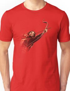 RED MOCKINGJAY Unisex T-Shirt