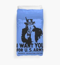 I WANT YOU FOR U.S ARMY Duvet Cover