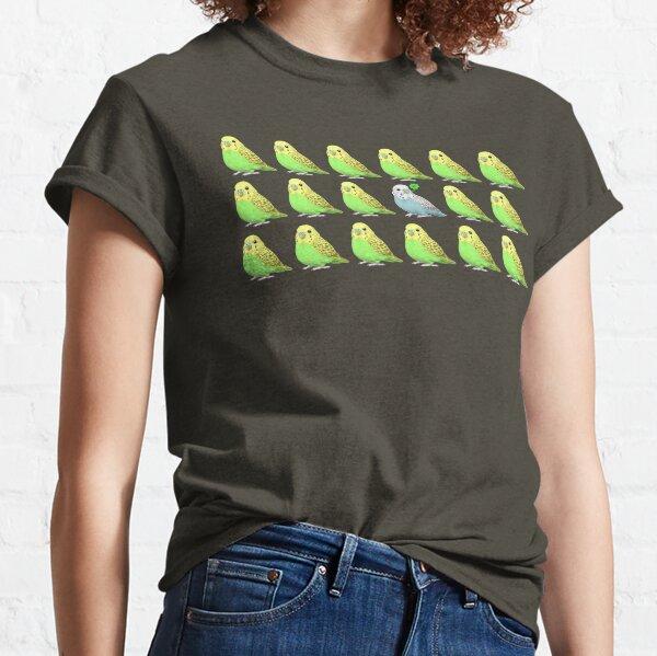 Lucky Parakeet Bird Classic T-Shirt
