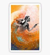 Waimea Ward and the Hurricane Sticker