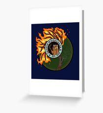 Smoking Woodchuck Greeting Card