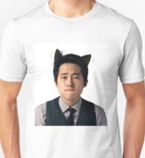 Steven Yeun Glenn Rhee kitten Unisex T-Shirt