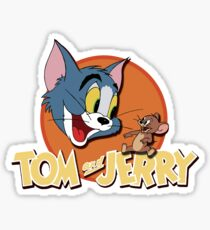 Tom and Jerry Sticker