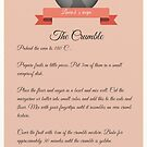 Crumble Recipe by Laure-b