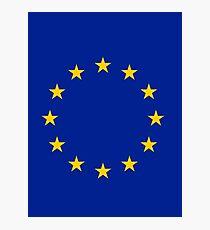 Living EU Flag Photographic Print