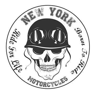 Skull Biker by Fmgt