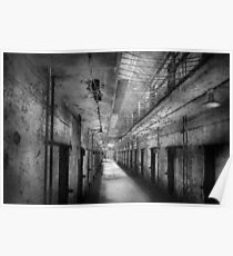 Jail - Eastern State Penitentiary - The forgotten ones  Poster
